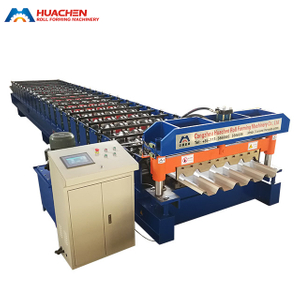 Trapezoid Roofing Sheet Roll Forming Machine