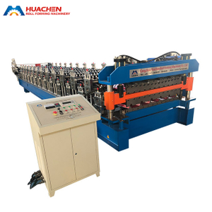 Stand-type Double Deck Roll Forming Machine
