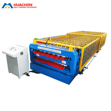 CE Certificated Double Deck Roll Forming Machine